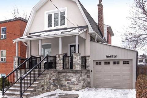 House for sale at 86 Albert Ave Toronto Ontario - MLS: W4389488