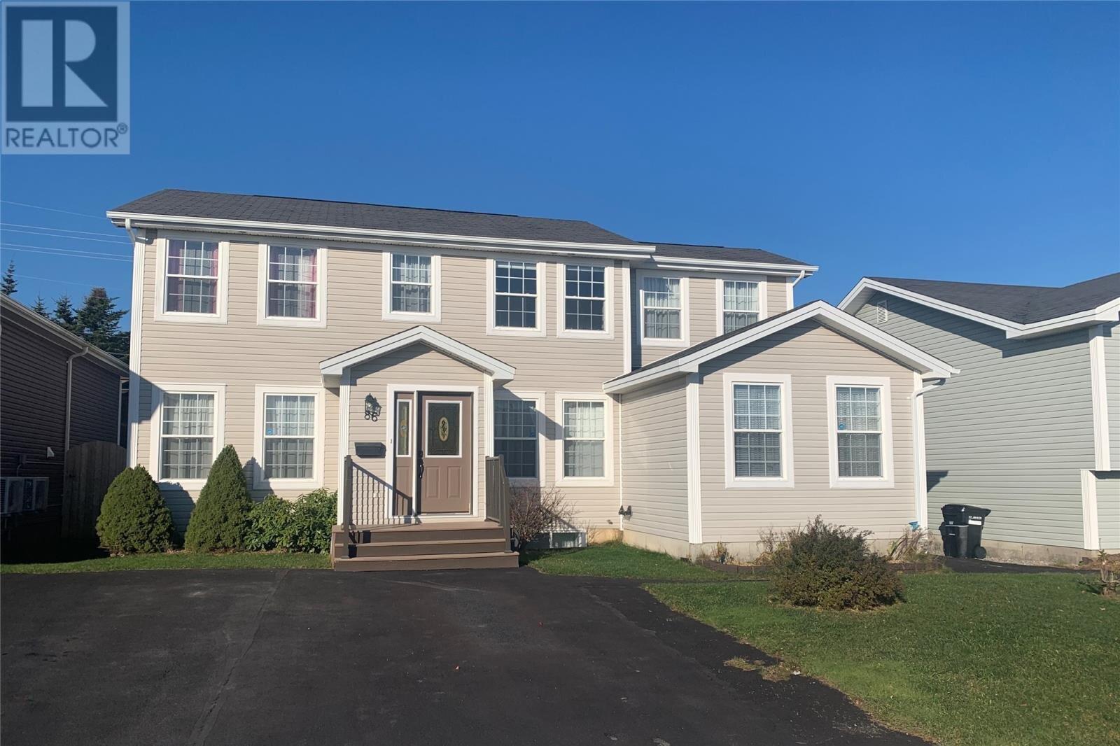 House for sale at 86 Eastbourne Cres St. John's Newfoundland - MLS: 1223742