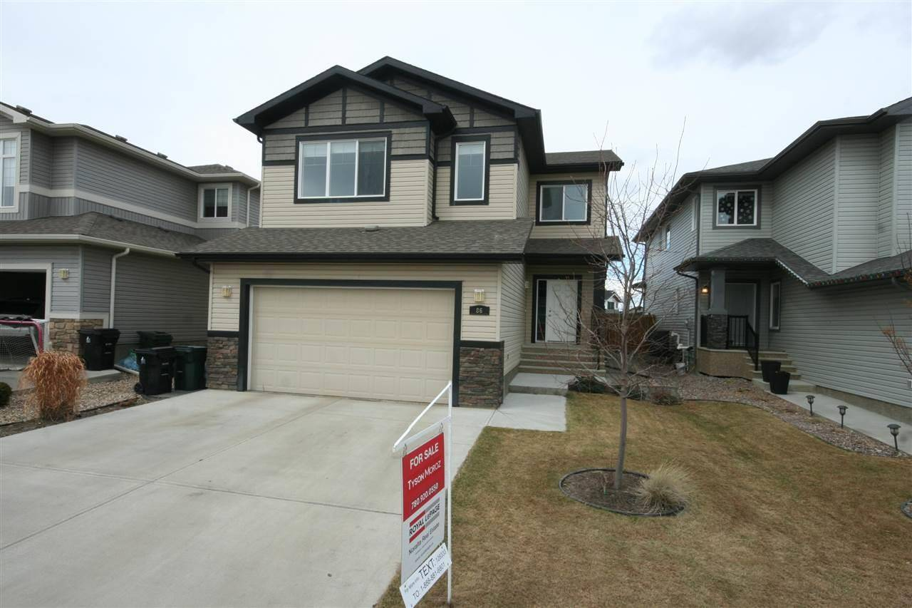 House for sale at 86 Hilldowns Dr Spruce Grove Alberta - MLS: E4188546