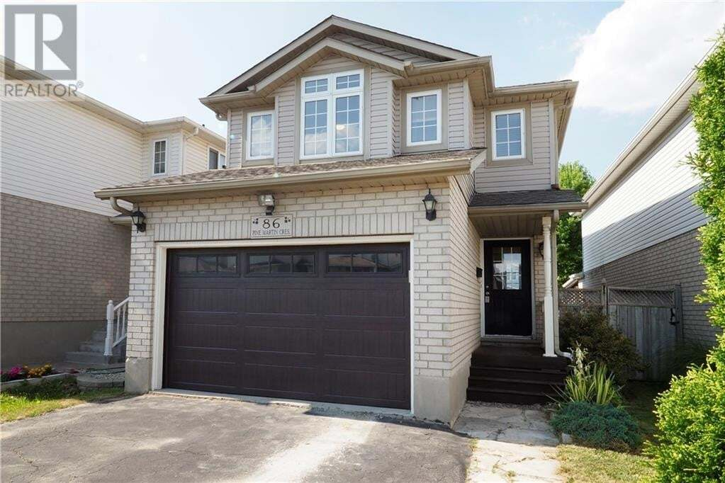 House for sale at 86 Pine Martin Cres Kitchener Ontario - MLS: 30820189