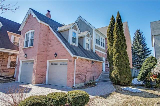 For Sale: 86 Waterbridge Lane, Markham, ON | 3 Bed, 4 Bath Home for $1,265,000. See 20 photos!