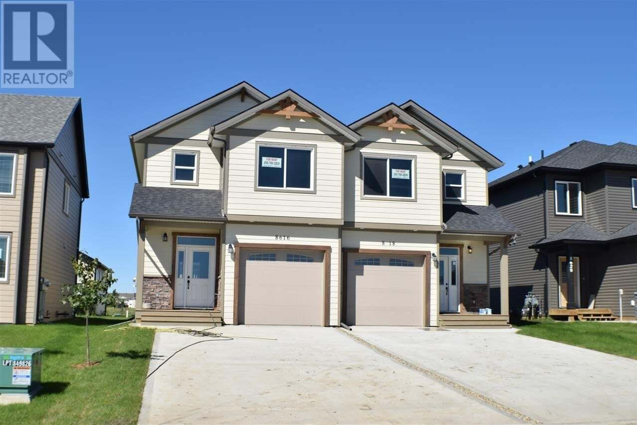 Townhouse for sale at 8616 82 St Fort St. John British Columbia - MLS: R2505212