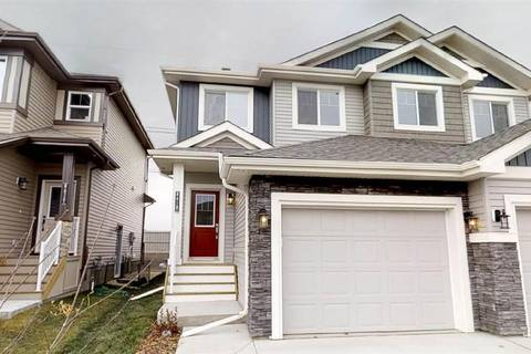 Townhouse for sale at 8618 Cushing Pl Sw Edmonton Alberta - MLS: E4154619