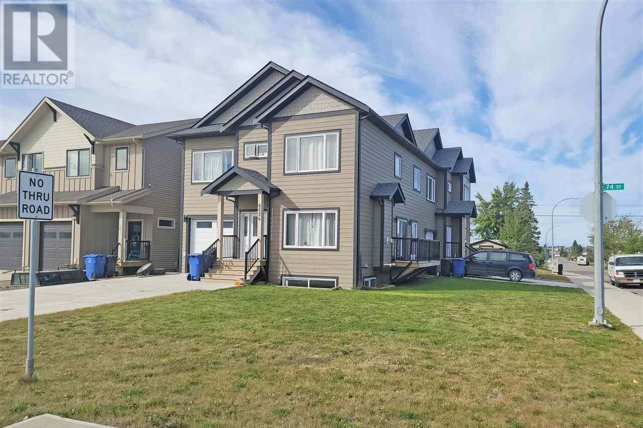 Townhouse for sale at 8624 74 St Fort St. John British Columbia - MLS: R2494831