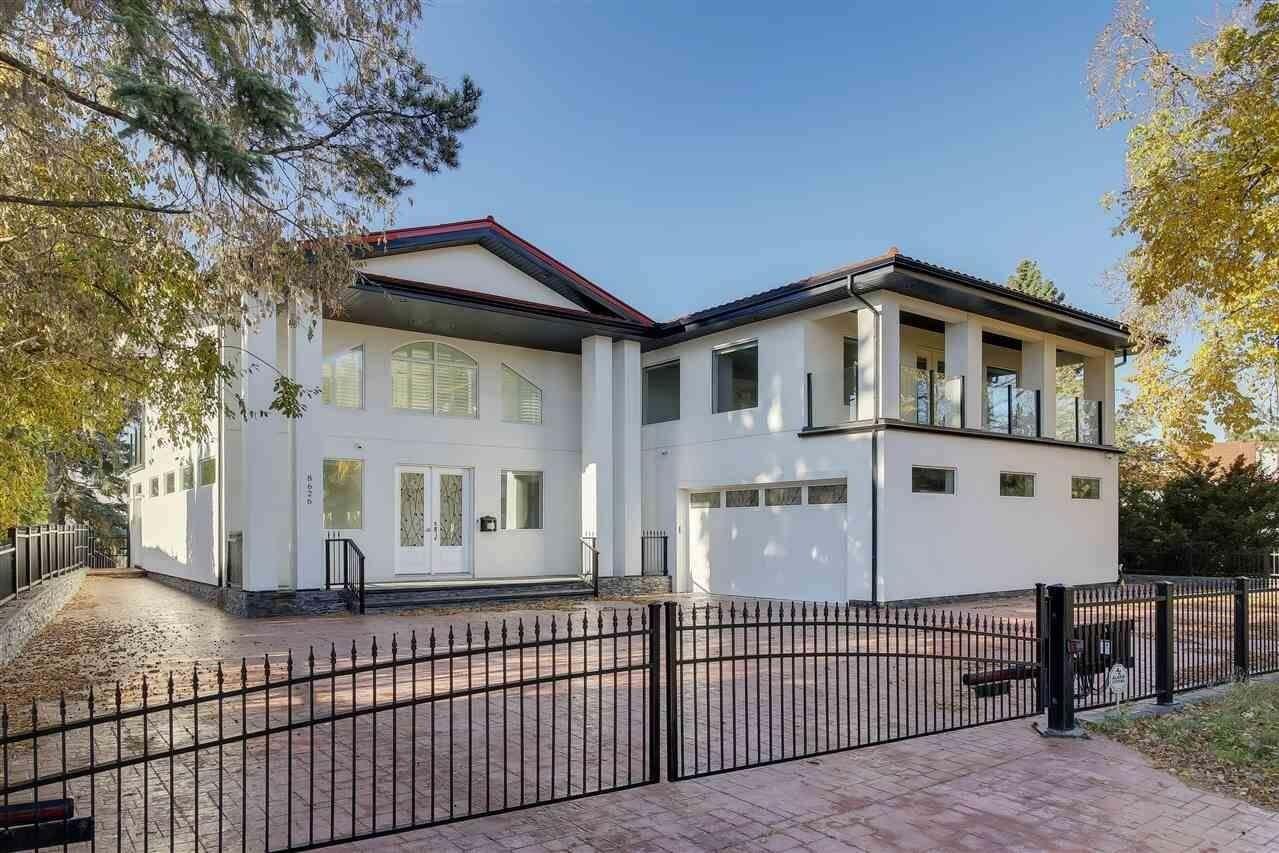 House for sale at 8626 Saskatchewan Dr NW Edmonton Alberta - MLS: E4204573