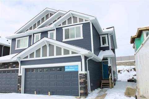 Townhouse for sale at 863 Ebbers Cres Nw Edmonton Alberta - MLS: E4145976