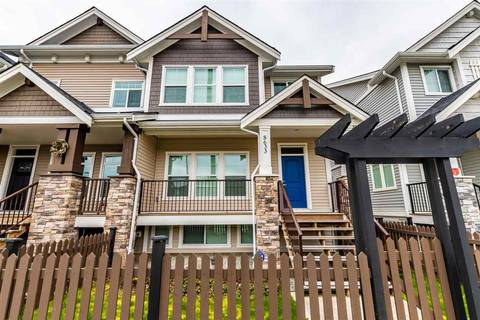 Townhouse for sale at 8633 Cedar St Mission British Columbia - MLS: R2448017