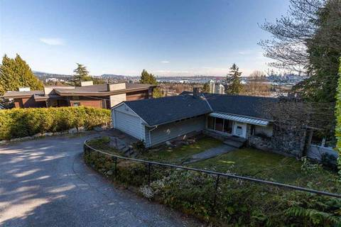 Residential property for sale at 866 Anderson Cres West Vancouver British Columbia - MLS: R2386228