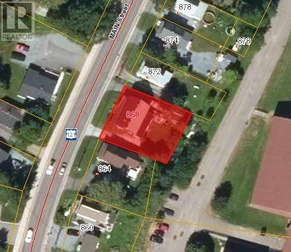 Residential property for sale at 868 Main St Hampton New Brunswick - MLS: NB023488