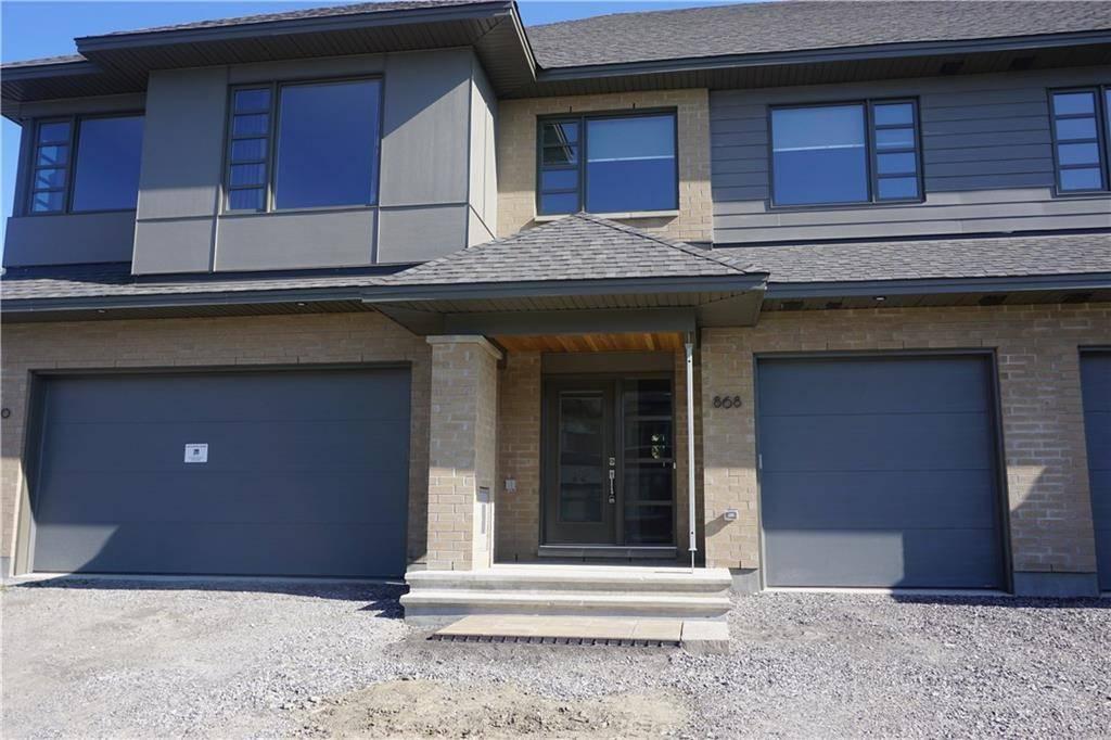 Townhouse for rent at 868 Quartet Ave Ottawa Ontario - MLS: 1166445