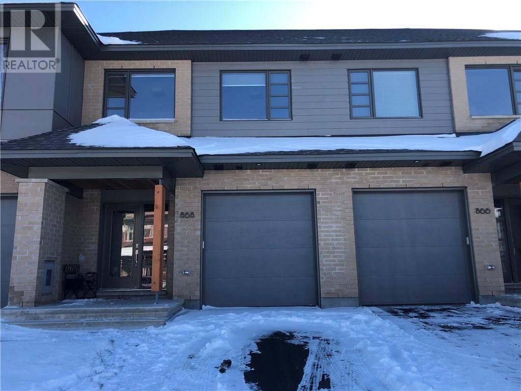 Townhouse for rent at 868 Quartet Ave Ottawa Ontario - MLS: 1175311