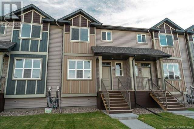 Townhouse for sale at 869 Greywolf Run Lethbridge Alberta - MLS: LD0193408