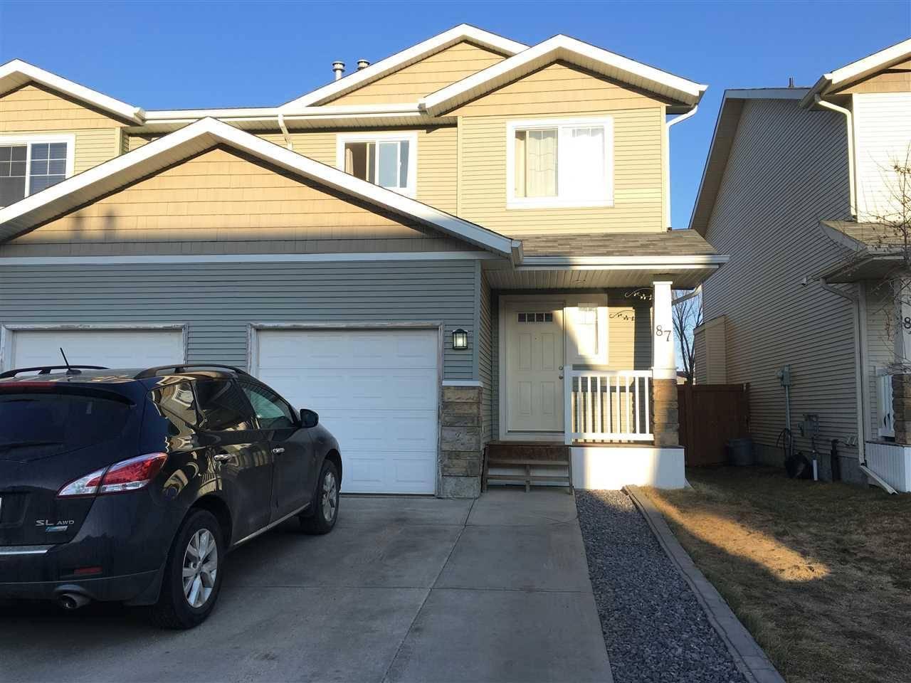 Townhouse for sale at 14208 36 St Nw Unit 87 Edmonton Alberta - MLS: E4177158