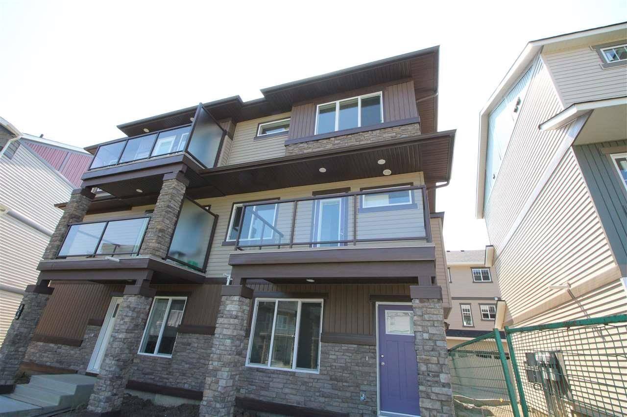 Townhouse for sale at 1530 Tamarack Blvd Nw Unit 87 Edmonton Alberta - MLS: E4169983
