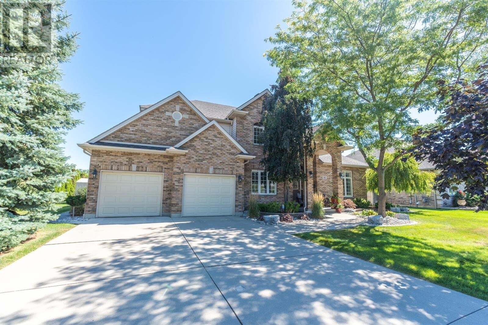 House for sale at 87 Braemar Blvd Chatham Ontario - MLS: 20009553