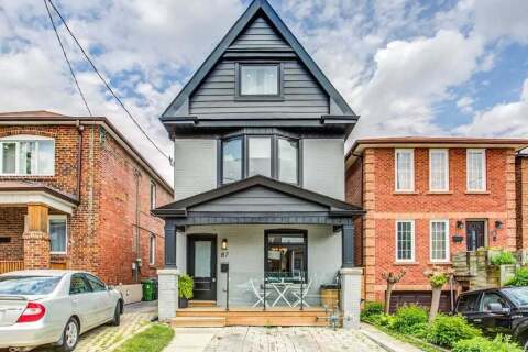House for sale at 87 Bristol Ave Toronto Ontario - MLS: W4822241