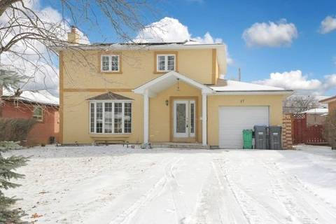 House for sale at 87 Brookland Dr Brampton Ontario - MLS: W4357041