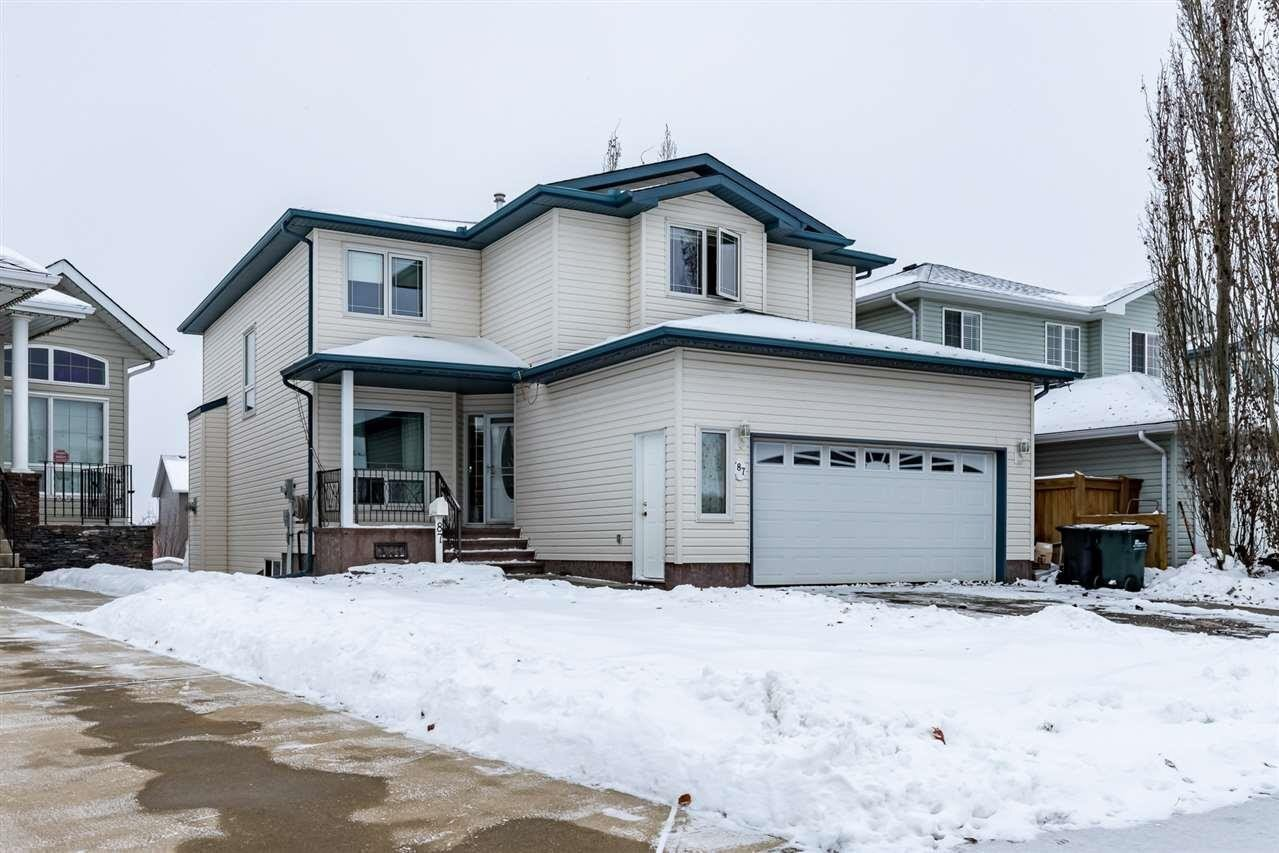 House for sale at 87 Cactus Wy Sherwood Park Alberta - MLS: E4221144