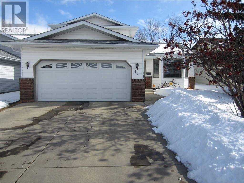 House for sale at 87 Davison Dr Red Deer Alberta - MLS: ca0190840