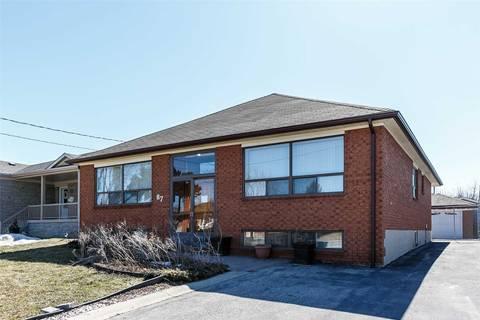 House for sale at 87 Denbigh Cres Toronto Ontario - MLS: W4404915
