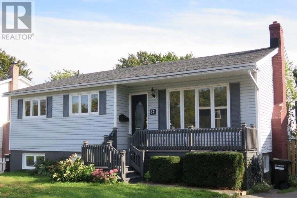 House for sale at 87 Ferryland St West St. John's Newfoundland - MLS: 1221657