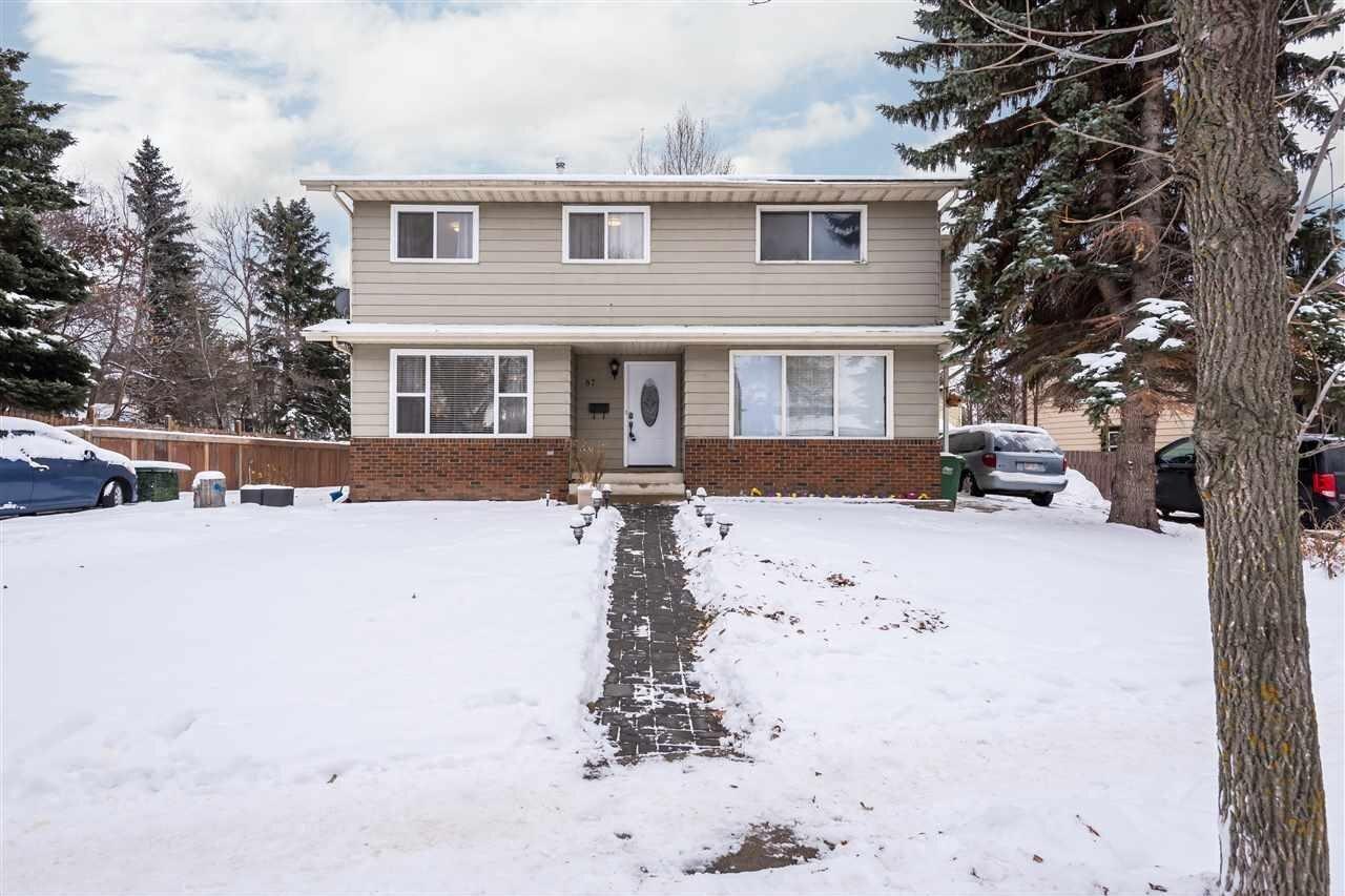 Townhouse for sale at 87 Gainsborough Av St. Albert Alberta - MLS: E4221738