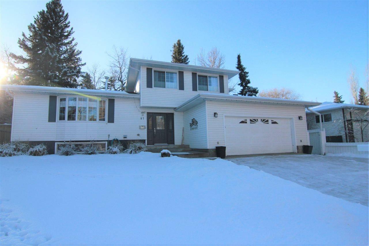House for sale at 87 Glenhaven Cres St. Albert Alberta - MLS: E4183586