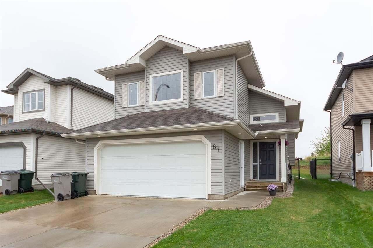 House for sale at 87 Grayridge Cr Stony Plain Alberta - MLS: E4198579