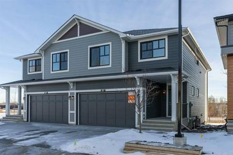 Townhouse for sale at 87 Harvest Grove Common Northeast Calgary Alberta - MLS: C4281940