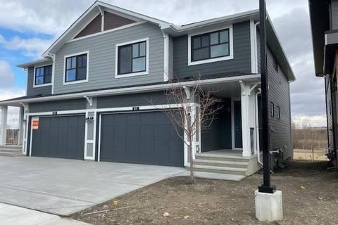 Townhouse for sale at 87 Harvest Grove Common Northeast Calgary Alberta - MLS: C4295802