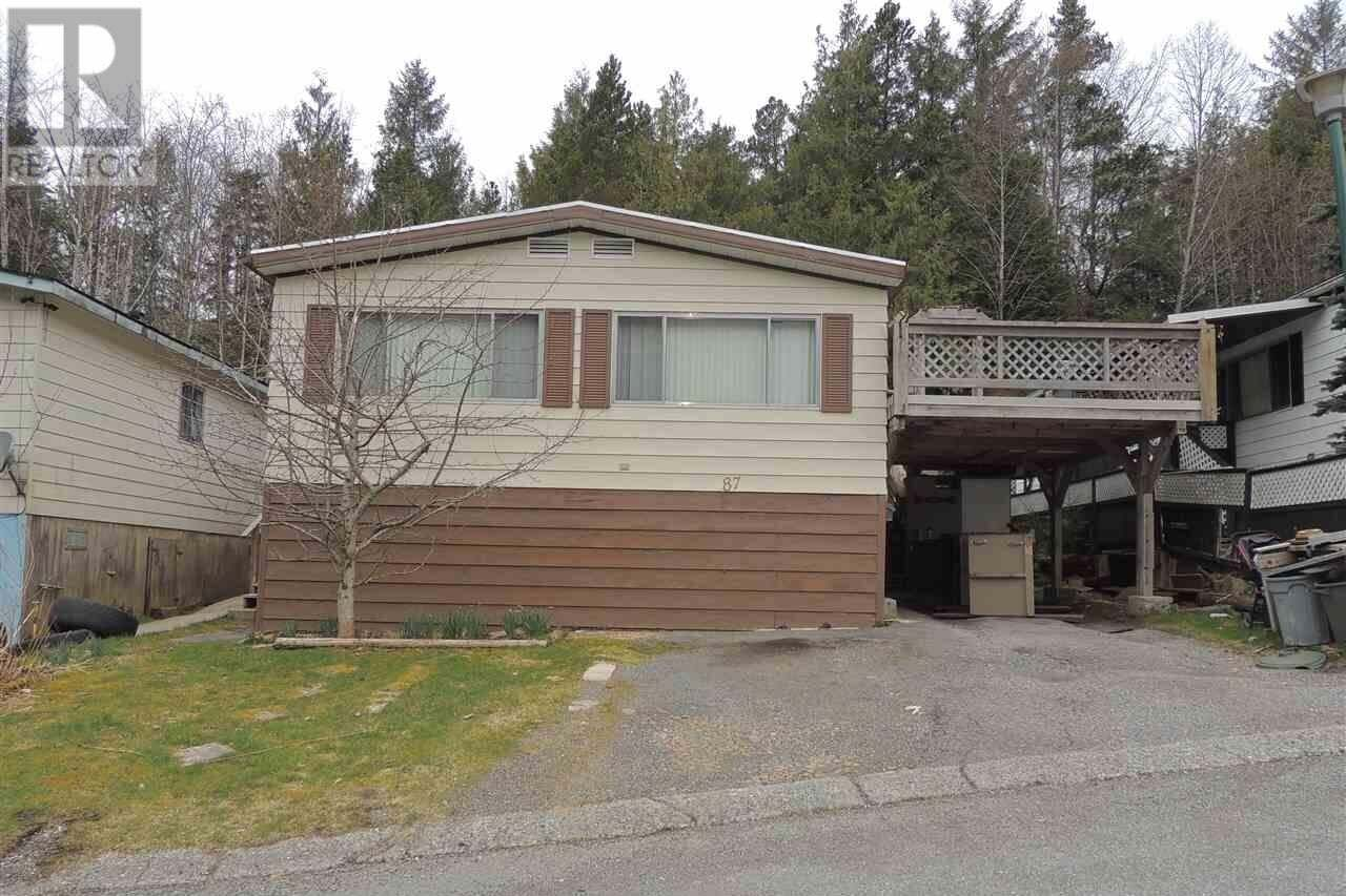 Residential property for sale at 87 Hays Vale Dr Prince Rupert British Columbia - MLS: R2460004