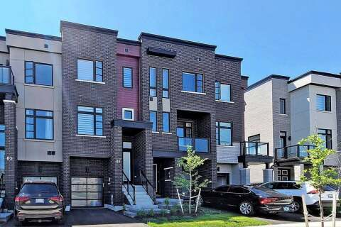 Townhouse for sale at 87 Lebovic Campus Dr Vaughan Ontario - MLS: N4834936
