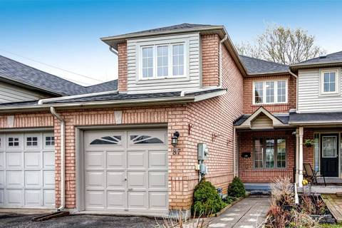 Townhouse for sale at 87 Montserrand St Barrie Ontario - MLS: S4450678