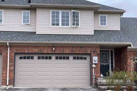 Townhouse for sale at 87 Oakside Dr Uxbridge Ontario - MLS: N4456473