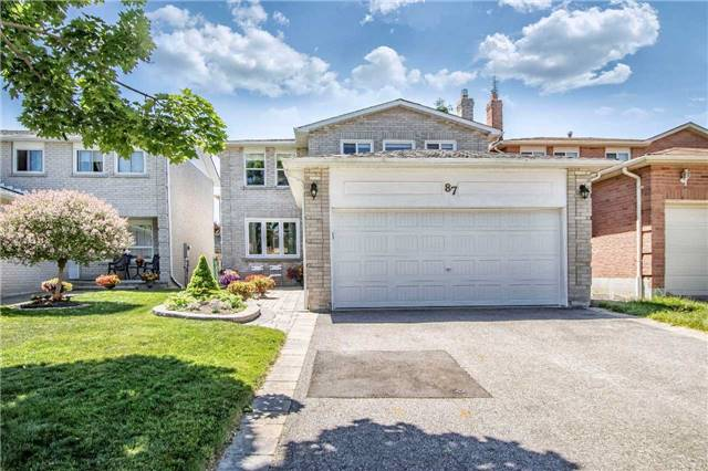 Removed: 87 Rotherglen Road, Ajax, ON - Removed on 2018-08-03 12:12:50