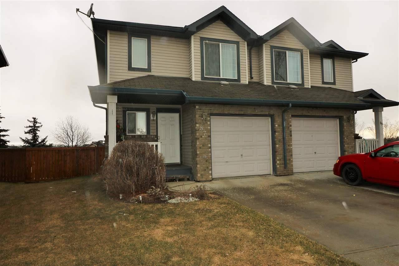Townhouse for sale at 87 Ventura St Spruce Grove Alberta - MLS: E4187452