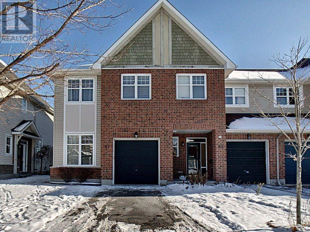 Townhouse for sale at 87 Whetstone Cres Nepean Ontario - MLS: 1175737