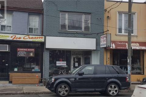 Commercial property for lease at 870 Bathurst St Toronto Ontario - MLS: C4638429