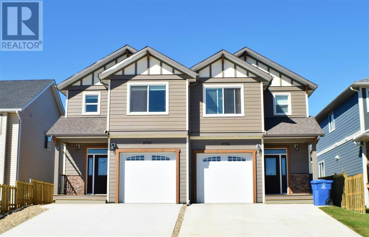 Townhouse for sale at 8706 82 St Fort St. John British Columbia - MLS: R2403110