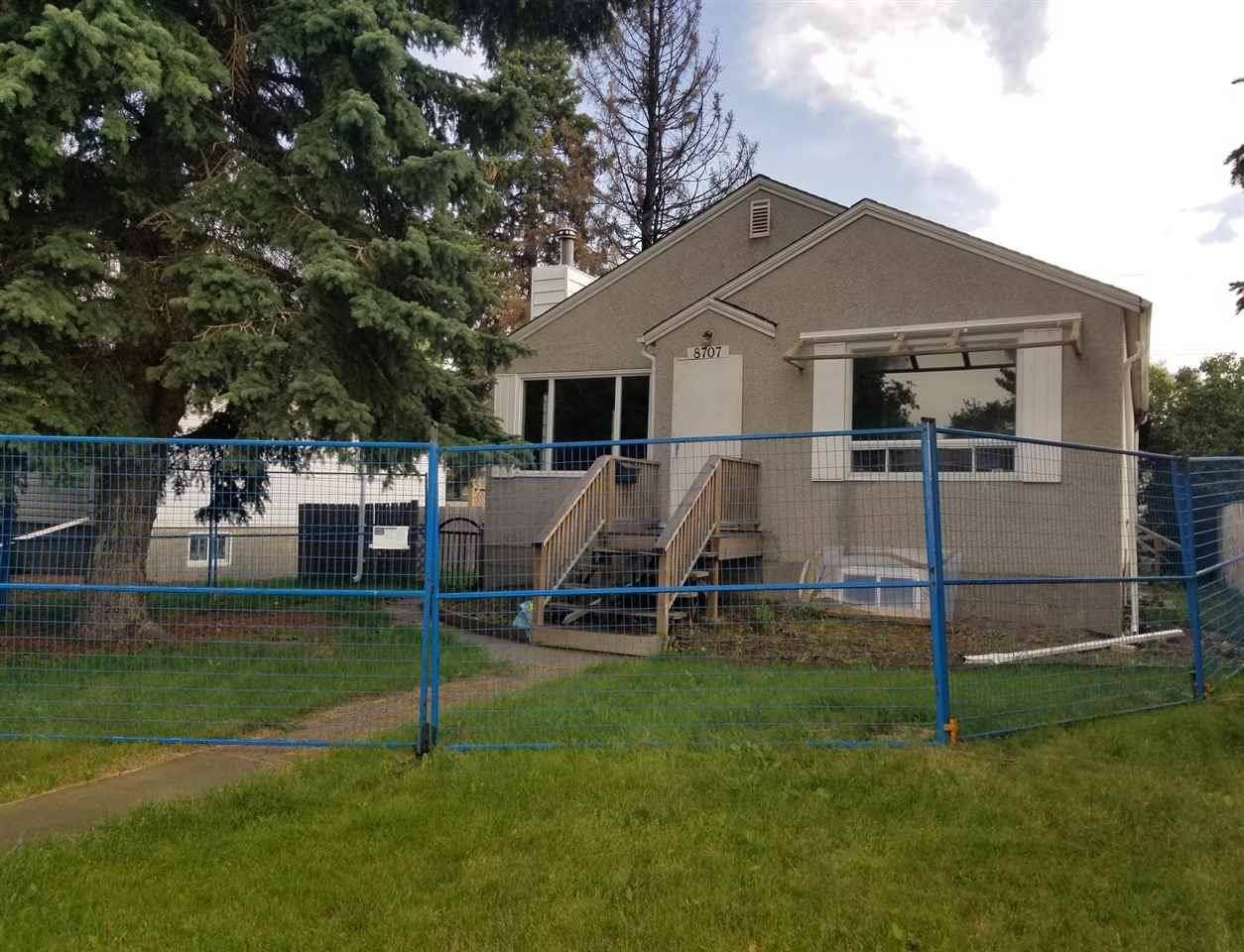 House for sale at 8707 89 Ave Nw Edmonton Alberta - MLS: E4184074