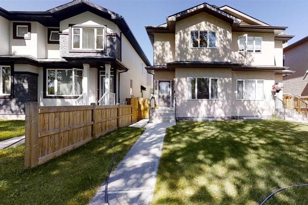 Townhouse for sale at 8708 81 Av NW Edmonton Alberta - MLS: E4209333