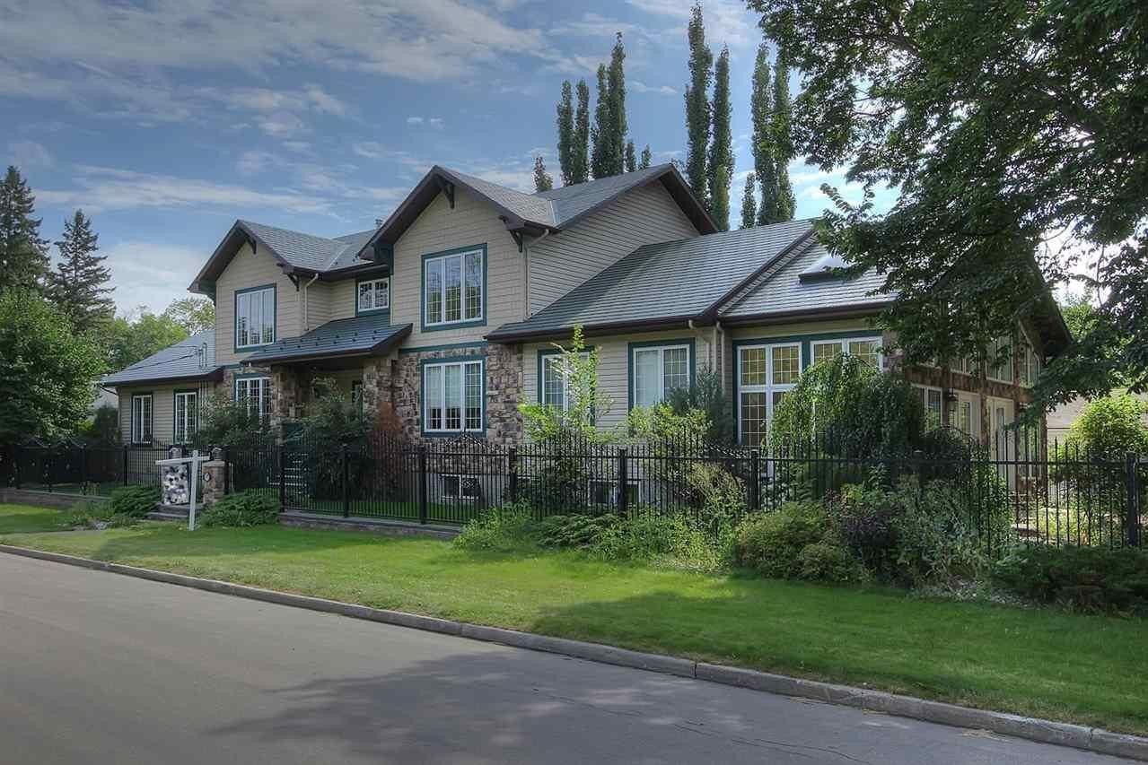 House for sale at 8709 102 Av NW Edmonton Alberta - MLS: E4176986