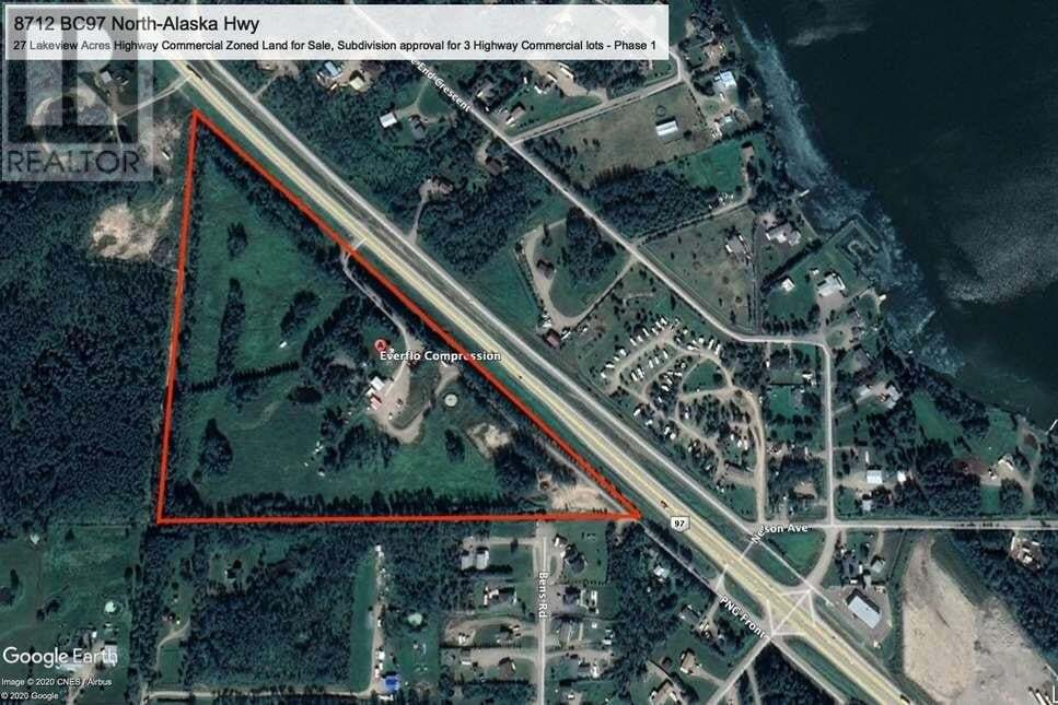 Residential property for sale at 8712 Highway 97 North Hy Fort St. John (zone 60) British Columbia - MLS: C8030733