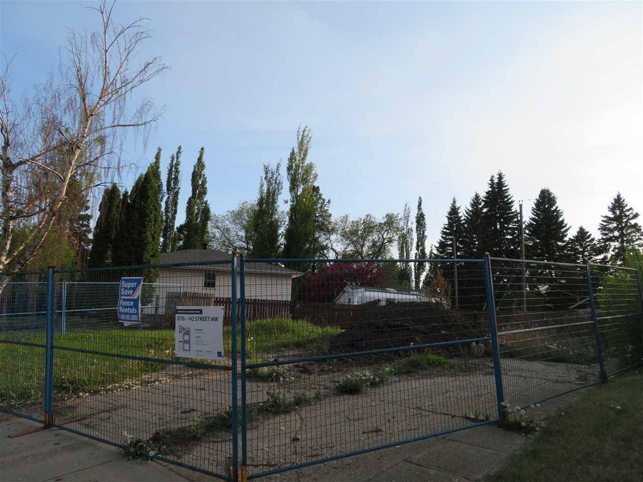 Home for sale at 8716 142 St Nw Edmonton Alberta - MLS: E4176276