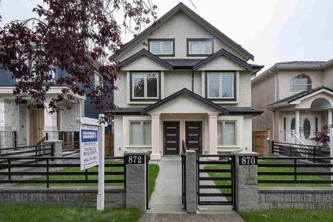 Townhouse for sale at 872 58th Ave E Vancouver British Columbia - MLS: R2466674