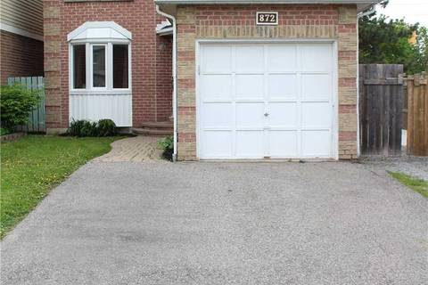 House for sale at 872 White Ash Dr Whitby Ontario - MLS: E4449499