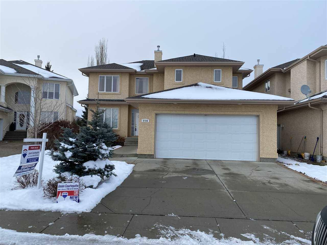 House for sale at 8724 208 St Nw Edmonton Alberta - MLS: E4176971