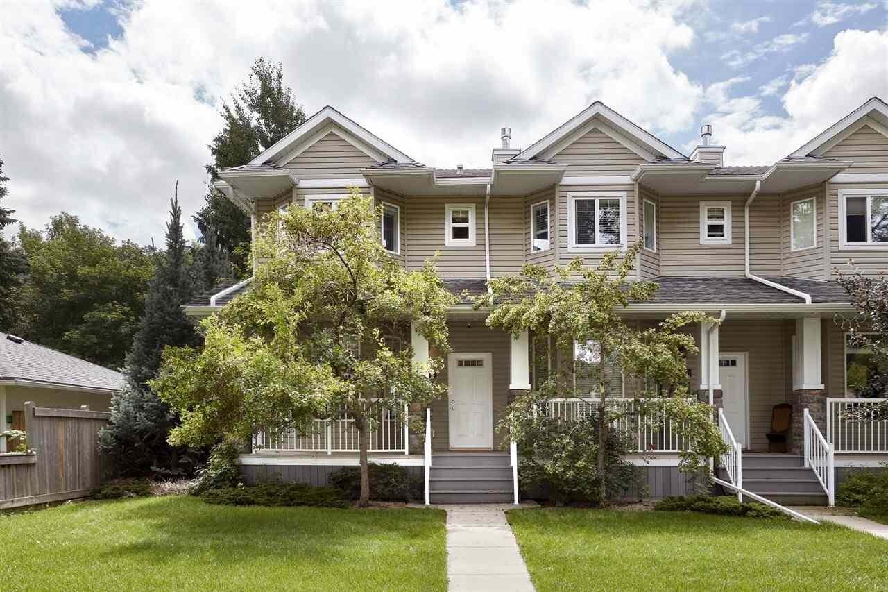 Townhouse for sale at 8733 83 Av NW Edmonton Alberta - MLS: E4208501