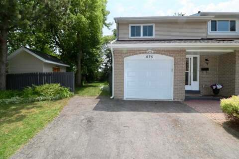 Townhouse for sale at 875 Hyland St Whitby Ontario - MLS: E4803472