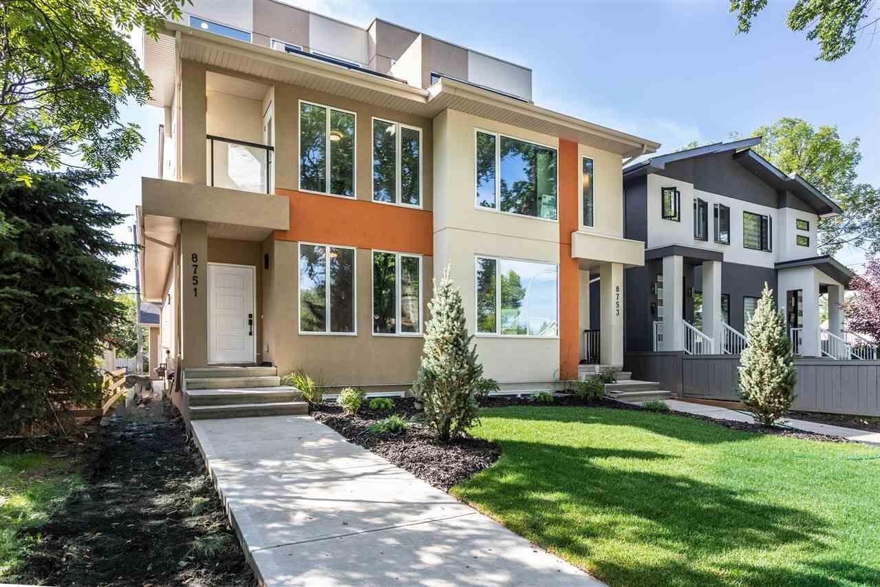 Townhouse for sale at 8751 80 Av NW Edmonton Alberta - MLS: E4211414